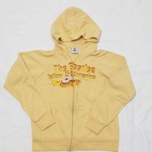 The Beatles Yellow Submarine zip up hoodie Size XS